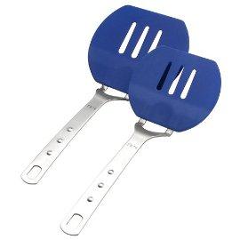 MIU France Flexible Pancake Spatulas, Set of Two, Blue