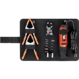 Black and Decker RTX-6 3-Speed Rotary Tool with 30 Accessories and 2 Spring Clamps