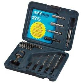 Bosch CC2130 Clic-Change 27-Piece Chuck, Drill Bit & Driver Set