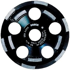 Bosch DC520 5 Diamond Cup Grinding Wheel for Abrasive Materials