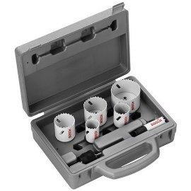Bosch PC6PCE 7-Piece Power Change Electrician Bi-Metal Hole Saw Set