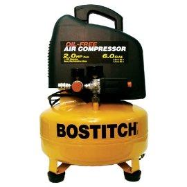 Bostitch CAP2060P 2HP 6 Gallon Oil-Free Compressor