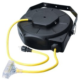 Coleman Cable 04820 Luma-Site Heavy-Duty Industrial Cord Reel