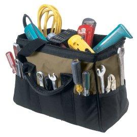 Custom LeatherCraft 1165 22 Pocket Large BigMouth Bag (16 Inches)