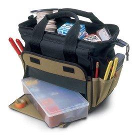 Custom LeatherCraft 1137 12 Pocket TrayTote Bag