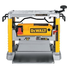 "DeWalt DW734 Heavy Duty 12-1/2"" Thickness Planer with 3-Knife Cutter Head"