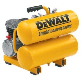 DEWALT D55153 2 3/4 HP 4 Gallon Electric Twin Stack Compressor