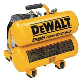DeWALT D55151 2-1/2 HP 4-Gallon Electric Hand Carry Compressor