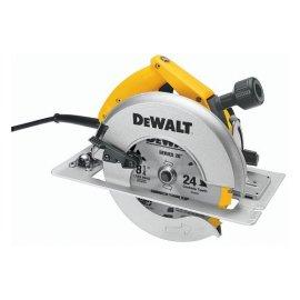DEWALT DW384 8-1/4 Heavy Duty Circular Saw with Brake and Rear Pivot Depth of Cut Adjustment