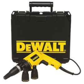 DEWALT DW260K Heavy Duty Variable Speed Reversing All Purpose Screwdriver Kit