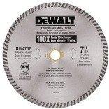 DEWALT DW4702 7 Continuous Rim Industrial Dry Cut Diamond Blade