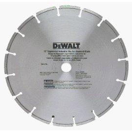 DEWALT DW4716 12 Segmented Rim Industrial Dry Cut Diamond Blade