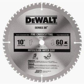 DEWALT DW3106 Series 20 : 10 Crosscut Miter Saw Blade