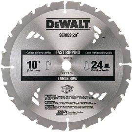 DEWALT DW3112 Series 20 10 24T Thin Kerf Table Saw Blade