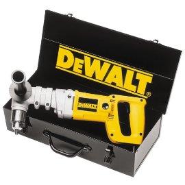 DEWALT DW120K 1/2 Heavy Duty 7.0 Amp Angle Drill Kit