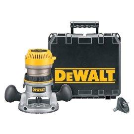 DEWALT DW616K 1-3/4 HP Fixed Base Router Kit