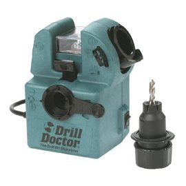 Drill Doctor DD500PK 3/32 - 1/2 Precision Drill Bit Sharpener with Free Carrying Case and How-to Video