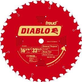 Freud Diablo D1632X 16-5/16 32-Tooth Beam Saw Blade