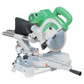 Hitachi C10FSB 10 Dual Bevel Slide Compound Miter Saw