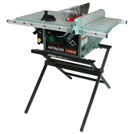 Hitachi C10RA2 10 Portable Table Saw with Metal Stand