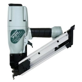 Hitachi NR65AKS Strap-Tite Metal Fastening Nailer with Short Magazine