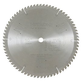 Hitachi 10 x 72 tooth triple chip miter saw blade