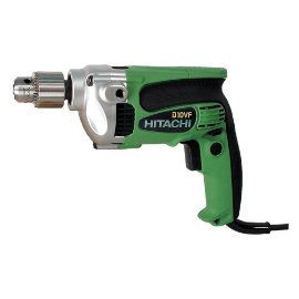 Hitachi D10VF 3/8 Drill, 9 Amp, 3,000rpm, 139 in/lbs. Torque