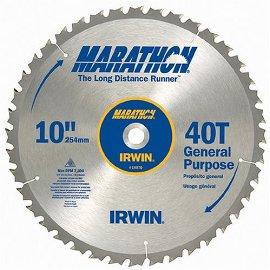 Marathon 14070 10, 40-Tooth Trim and Finish Circular Saw Blade