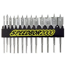 Speedbor 88887 13-Piece Wood Boring Bit Set