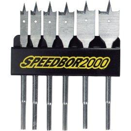 Speedbor 88898 6-Piece Wood Boring Bit Set