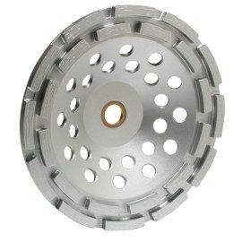 MK Diamond 155447 MK-304SG-2 7 x 7/8-5/8 Double Row Diamond Cup Wheel