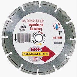 MK 150688 7 Premium Gold Segmented Rim Dry Blade