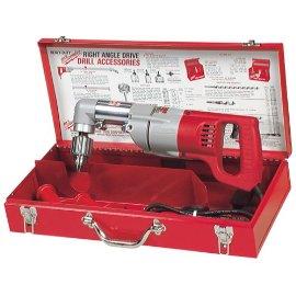 Milwaukee 3102-6 Right Angle Plumbers Drill Kit
