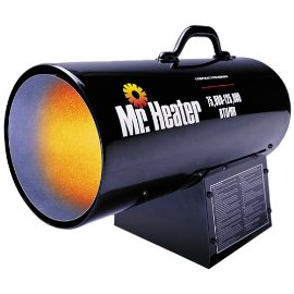 Mr. Heater MH125FAV 75,000-125,000 BTU Propane Forced Air Heater