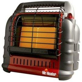 Mr Heater MH18B Portable Big Buddy Heater - 4,000 - 18,000 BTU