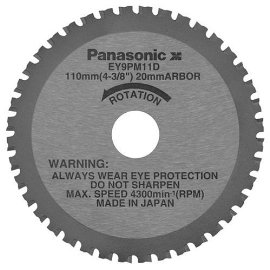 Panasonic EY9PM11D 4-3/8 Thin Metal Cutting Blade