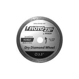 Rotozip ZBLADE Zip Mate Attachment Dry Diamond Continuous Rim Zip Blade