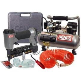 Senco PC0974 Finish Pro 10 Micro Pinner and Compressor Combo Kit