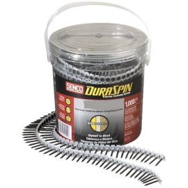 Senco 06A162P DuraSpin #6 x 1-5/8 Drywall to Wood Screws (1000 Pack)