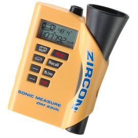Zircon 58430 DMS50L 50' Ultrasonic Measure with Laser Targeting