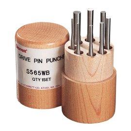 Starrett S565WB Drive Pin Punch Set