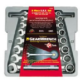 K-D Tools 9308 8-Piece SAE Combination GearWrench® Set
