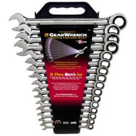K-D Tools 9416 16-Piece Metric Combination GearWrench® Set