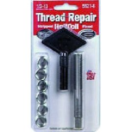 HeliCoil 5521-8 Thread Repair Kit for 1/2-13T - 6 Inserts