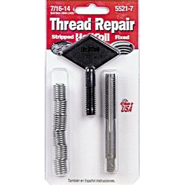HeliCoil 5521-7 Thread Repair Kit for 7/16-14T - 6 Inserts