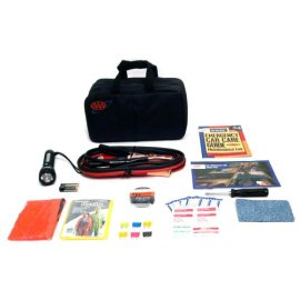 Lifeline LF-04330AAA 39-Piece Emergency Road Assistance Kit - black