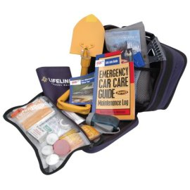 Lifeline LF-04290AAA 36-Piece Severe Weather Winter Travel Kit - black