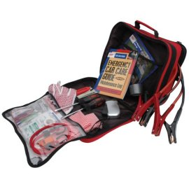 Lifeline LF-04286AAA 54-Piece Road Explorer Kit - black