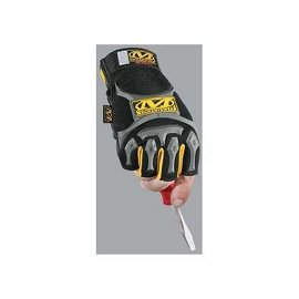 Mechanix Wear MFL-05-500 M-Pact Fingerless Glove Black Small/Medium