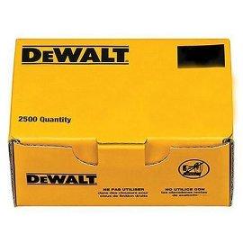DEWALT DCA16250 2-1/2 20-Degree 16-Gauge Finish Nails - 2,500 Box